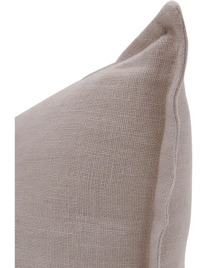 Lenox Linen Cushion with Flange Edge in Natural image 2