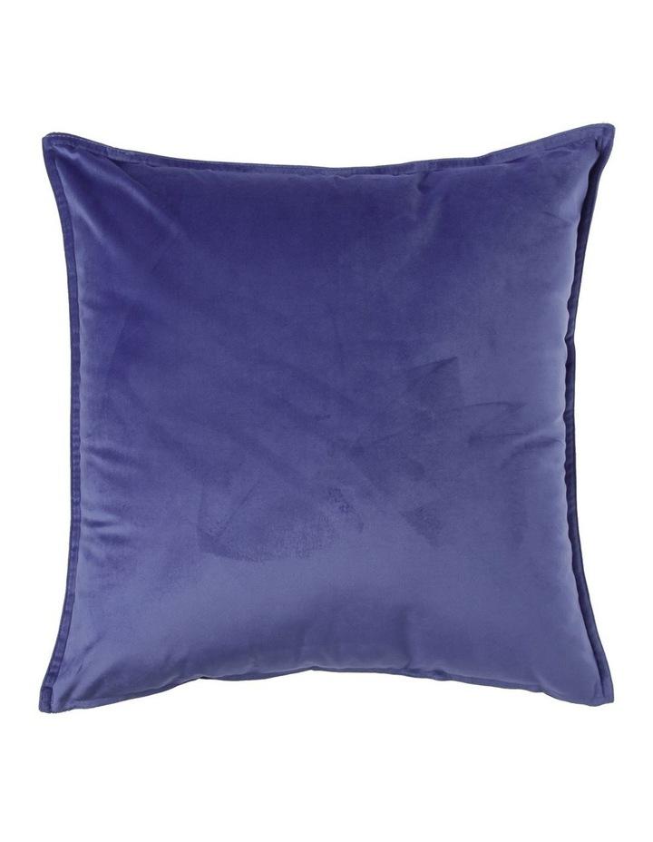 Vivienne Velvet Cushion in Sky image 1