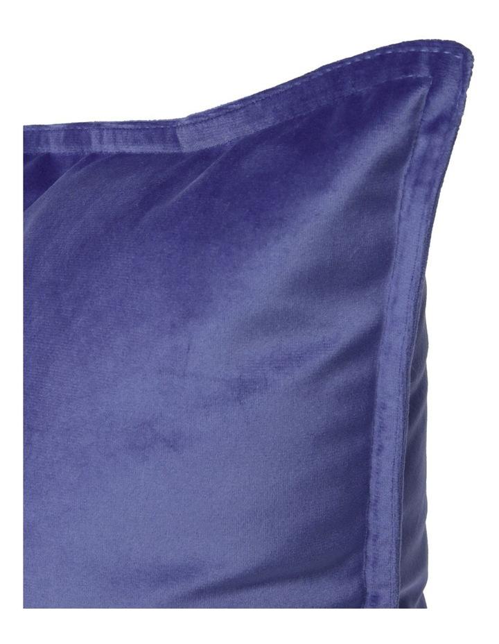 Vivienne Velvet Cushion in Sky image 2