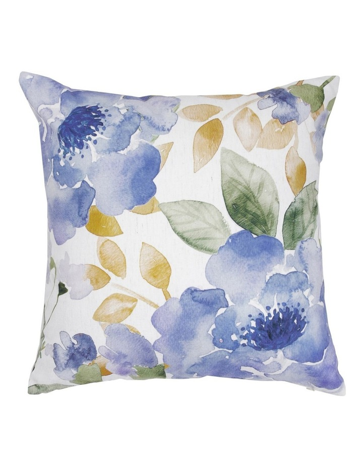 Linford Floral Cushion in Blue 50x50 cm image 1