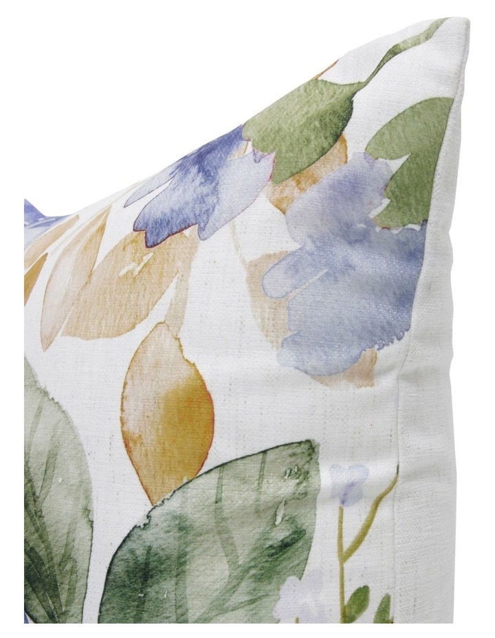 Linford Floral Cushion in Blue 50x50 cm image 2