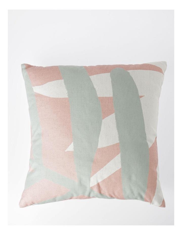 Moab Hand-Drawn Leaf Print Cushion image 1