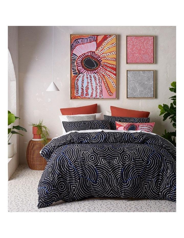 Walter Jangala Brown- Tingari Cycle Print Cushion image 2