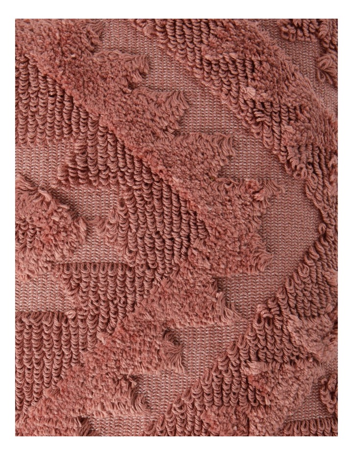 Amera Tufted Cushion in Coral image 3
