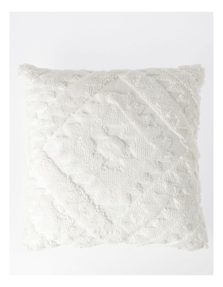 Amera Tufted Cushion in Off-White image 1