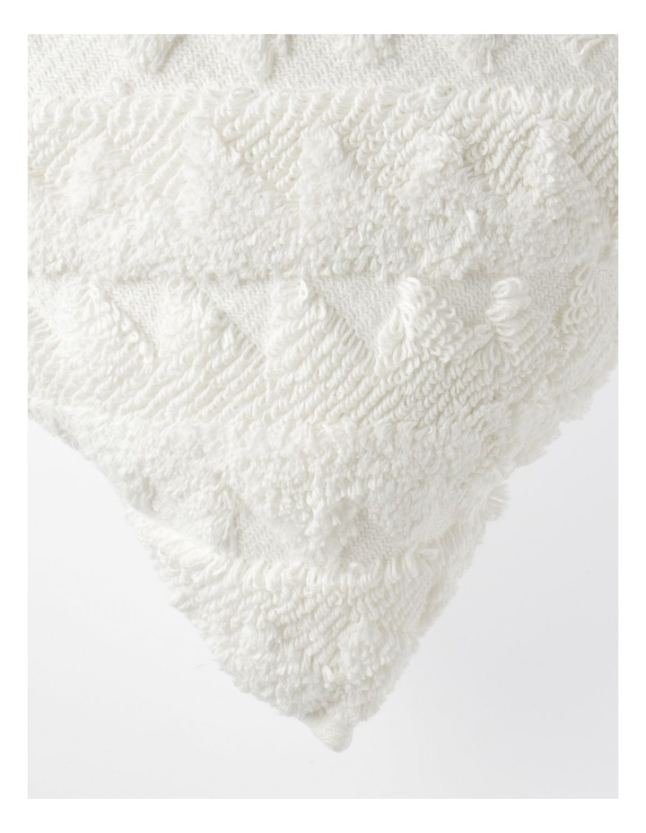 Amera Tufted Cushion in Off-White image 2