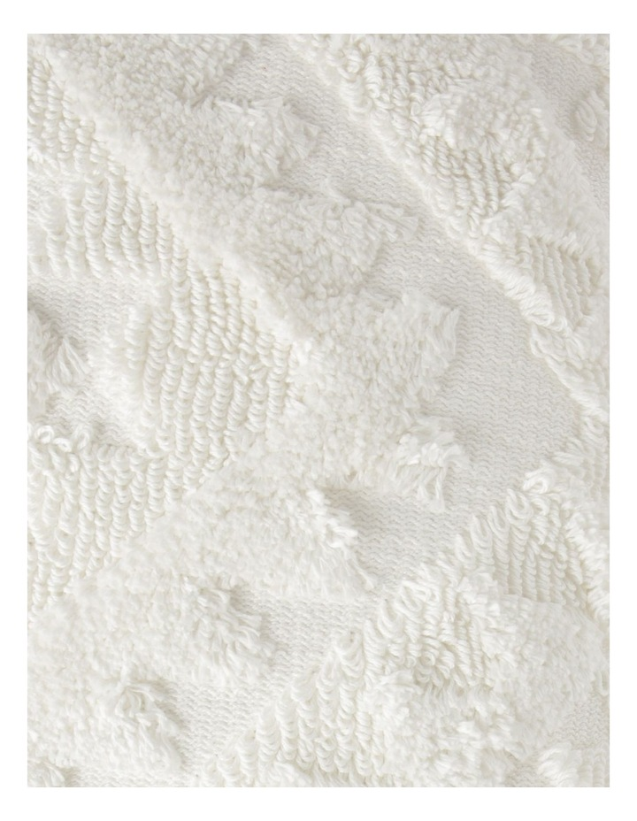 Amera Tufted Cushion in Off-White image 3