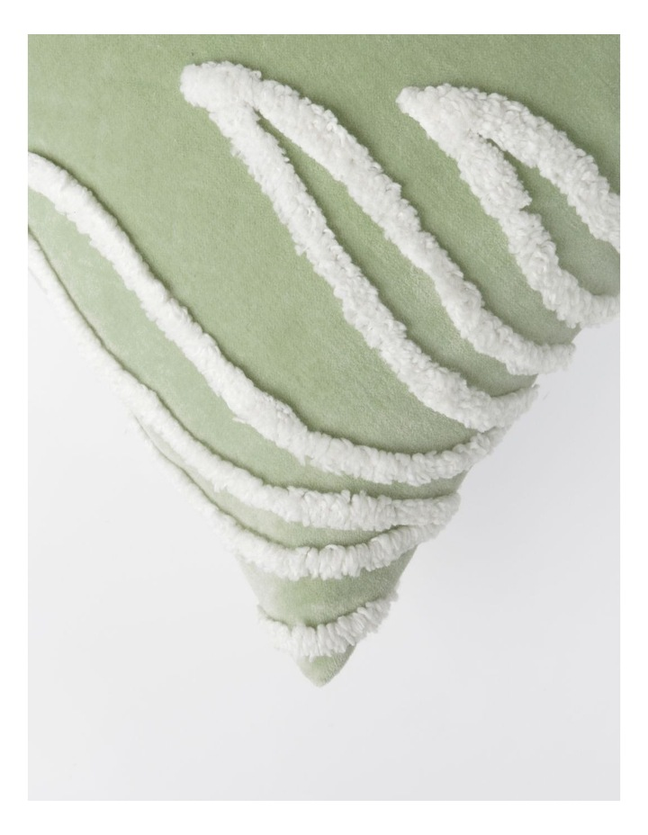 Decan Velvet with Tufting Cushion in Sage image 2
