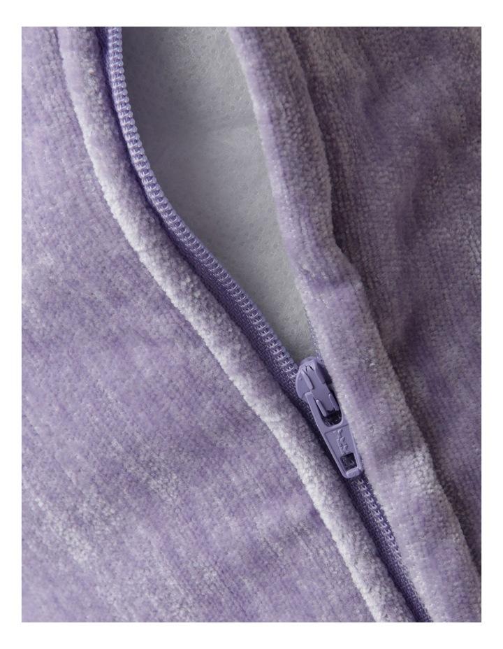 Pavillion Cushion in Lilac - 55cmx55cm image 4