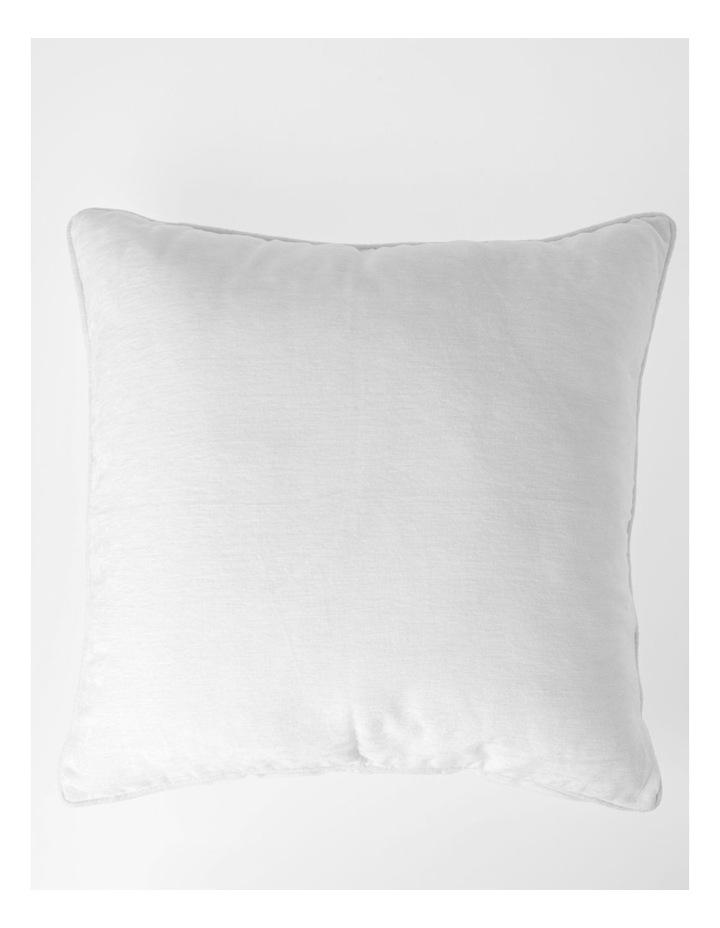 Heritage Pavillion Cushion in Off White: 55x55cm image 1