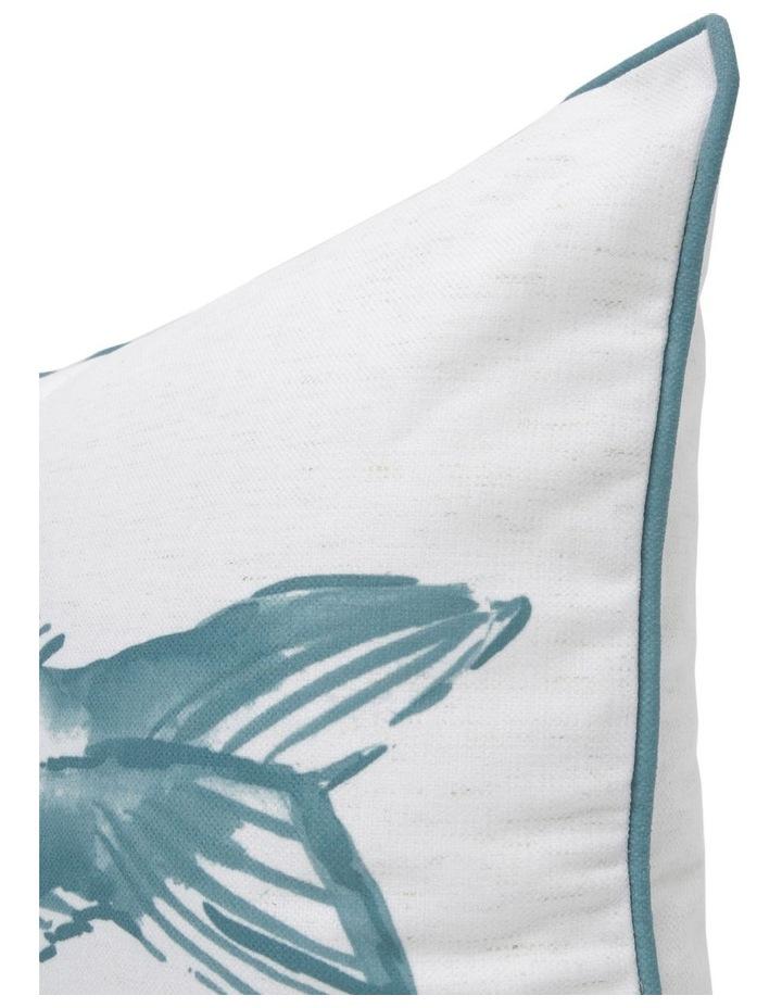 Hayman Hand-drawn Print Breakfast Cushion in Blue 40x60cm image 2