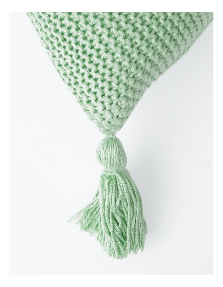 Melaky Tassel Cushion in Sage: 50 x 50cm image 2