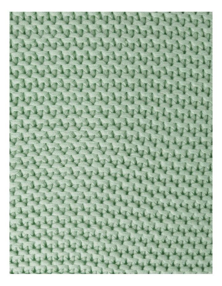 Melaky Tassel Cushion in Sage: 50 x 50cm image 3