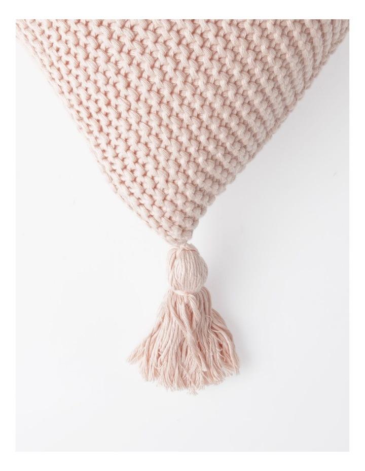 Melaky Tassel Cushion in Pink Sand: 50 x 50cm image 2