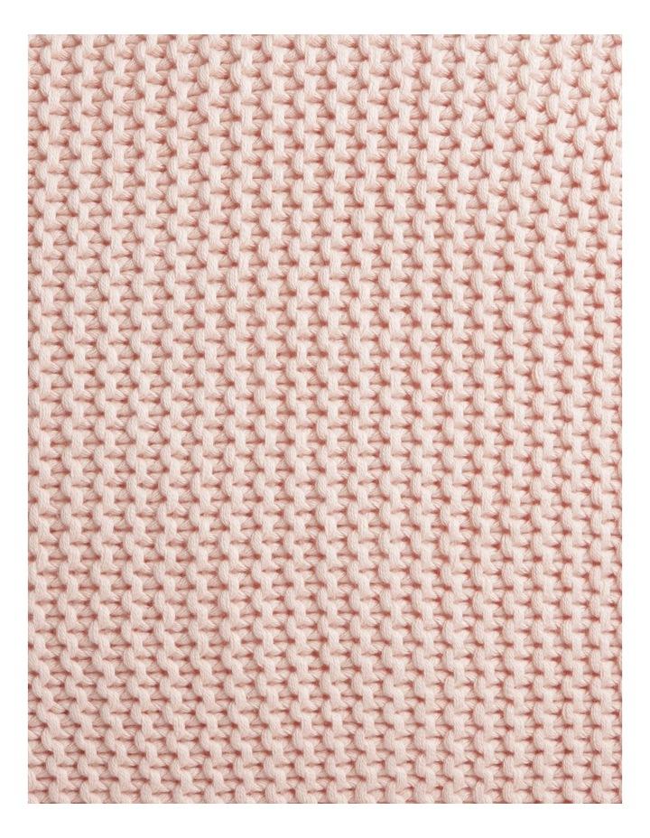 Melaky Tassel Cushion in Pink Sand: 50 x 50cm image 3
