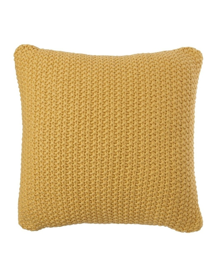 Norwood Knitted Cushion in Sand image 1