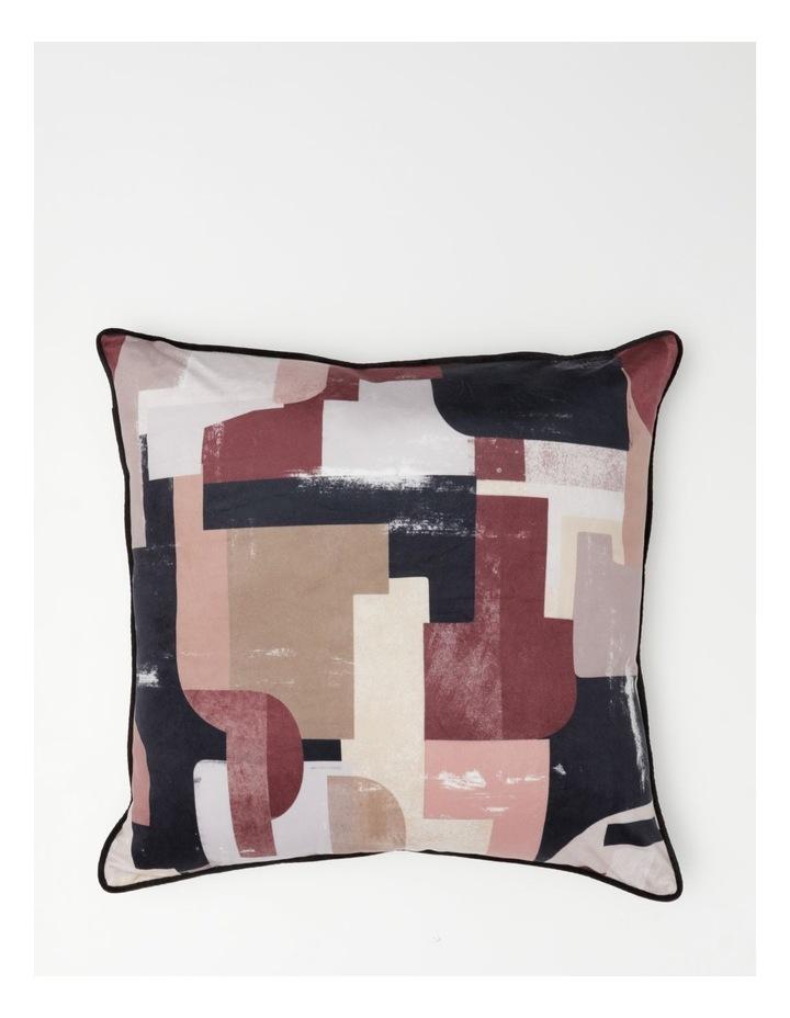 Vue Seville Velvet Cushion in Multi image 1