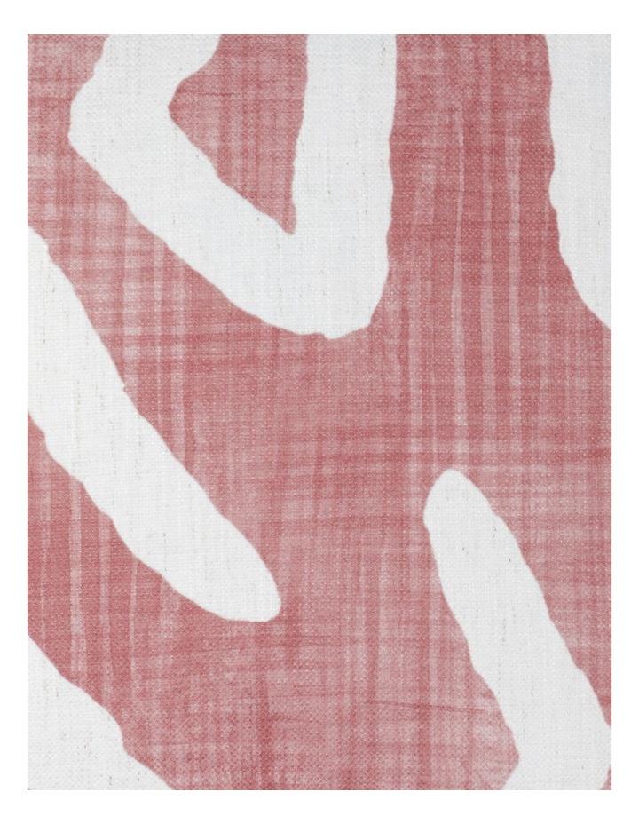 Adala Chenille Cushion with Tassles in Brick image 3
