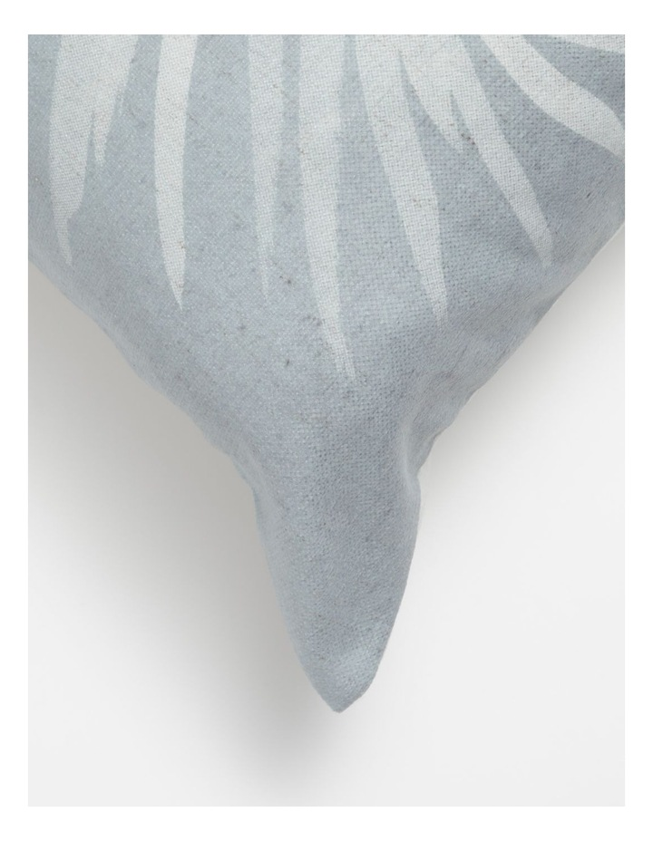 Malolo Palm Print Cushion in Sea Mist image 2