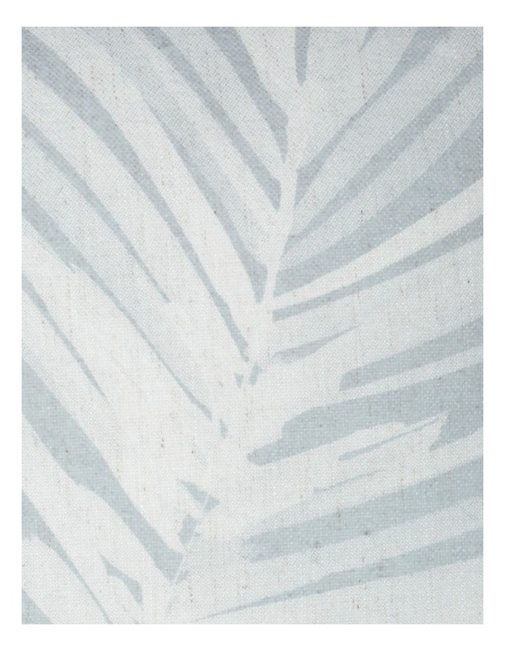 Malolo Palm Print Cushion in Sea Mist image 3