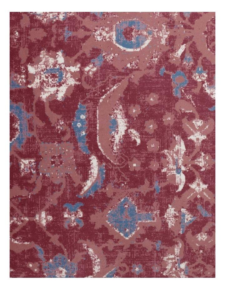 Castletown Velvet Cushion w/ Fringes in Red image 3