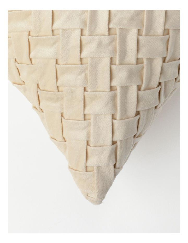 Rowland Velvet Cushion in Champagne image 2