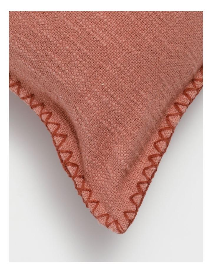 Lalla Cotton Cushion in Terracotta image 2