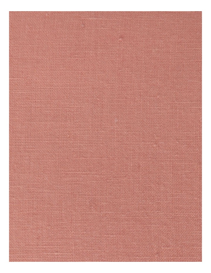 El Blanca Linen Cushion in Pink Clay image 3