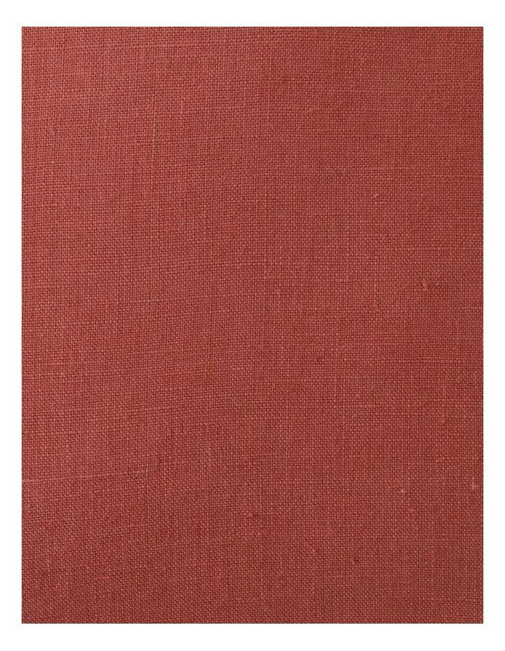 El Blanca Linen Cushion in Terracotta image 3