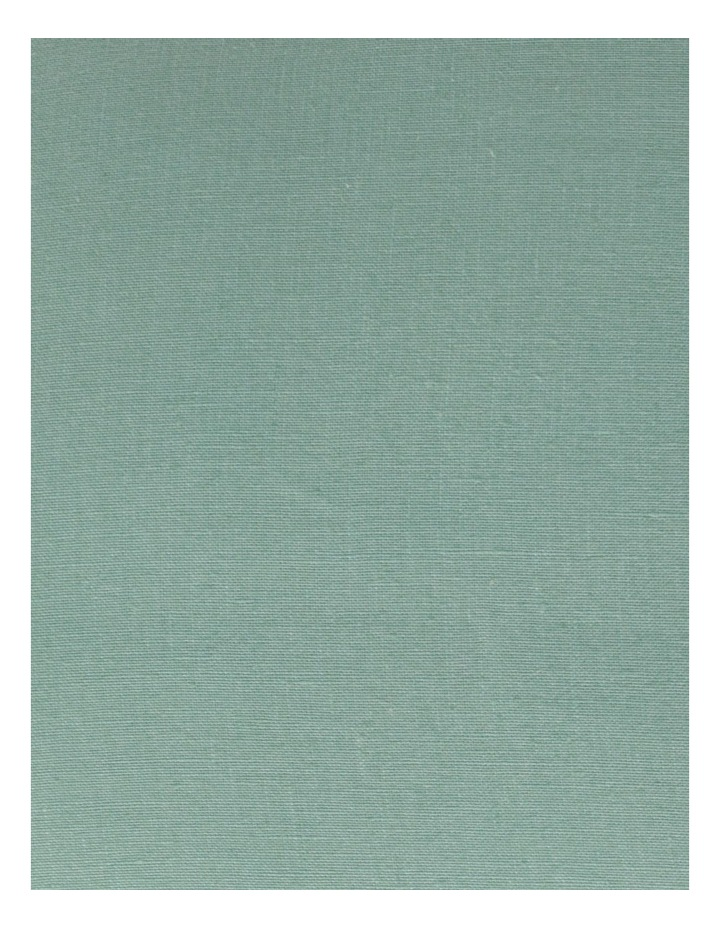Moreton Tassle Linen Cushion in Sea Mist image 3