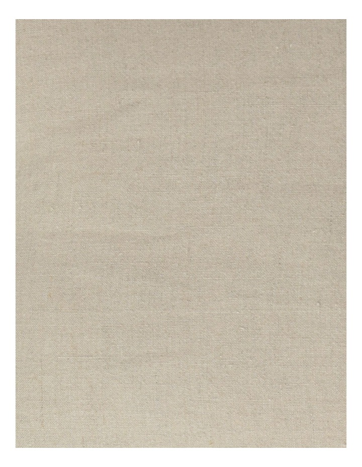 Moreton Tassle Linen Cushion in Natural image 3