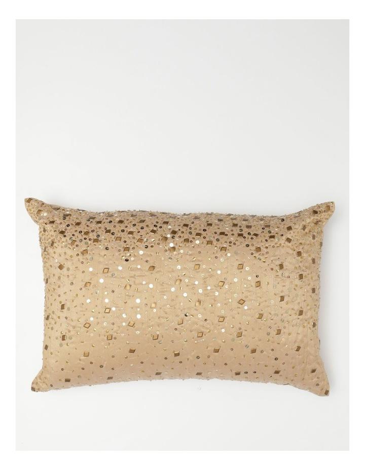 Heritage Moneta Beaded Breakfast Cushion image 1