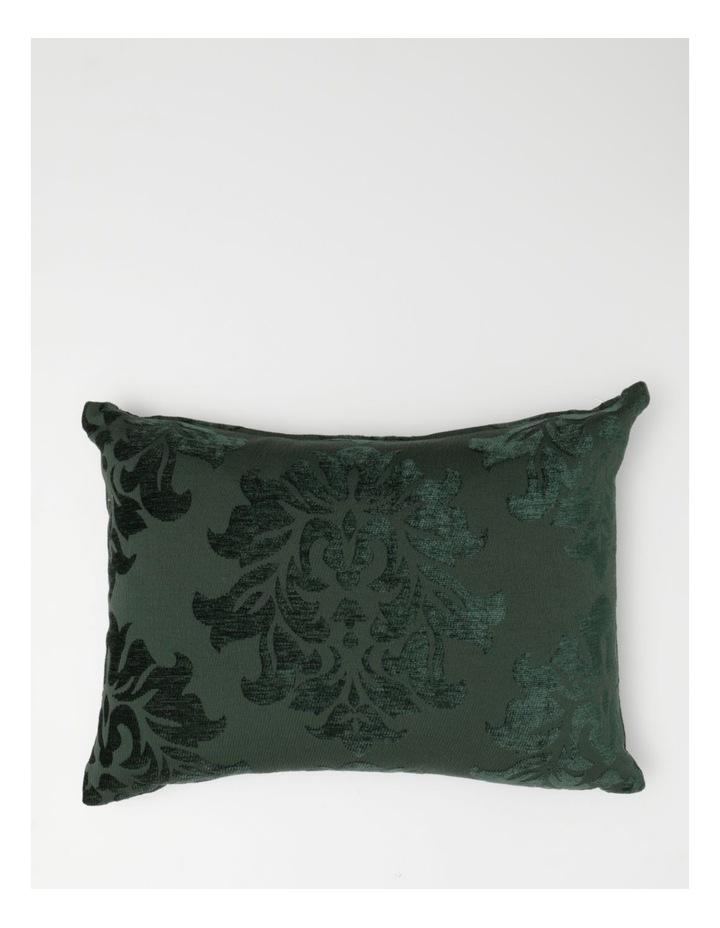 Heritage Maxima Velvet Cushion in Ivy image 1
