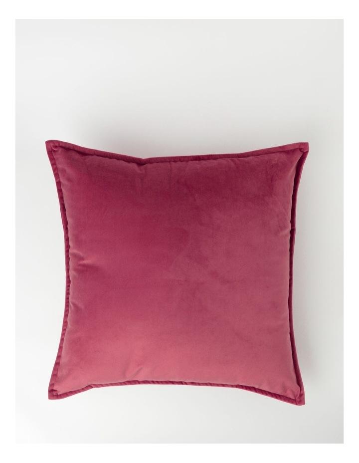 Vivienne Velvet Cushion in Berry image 1
