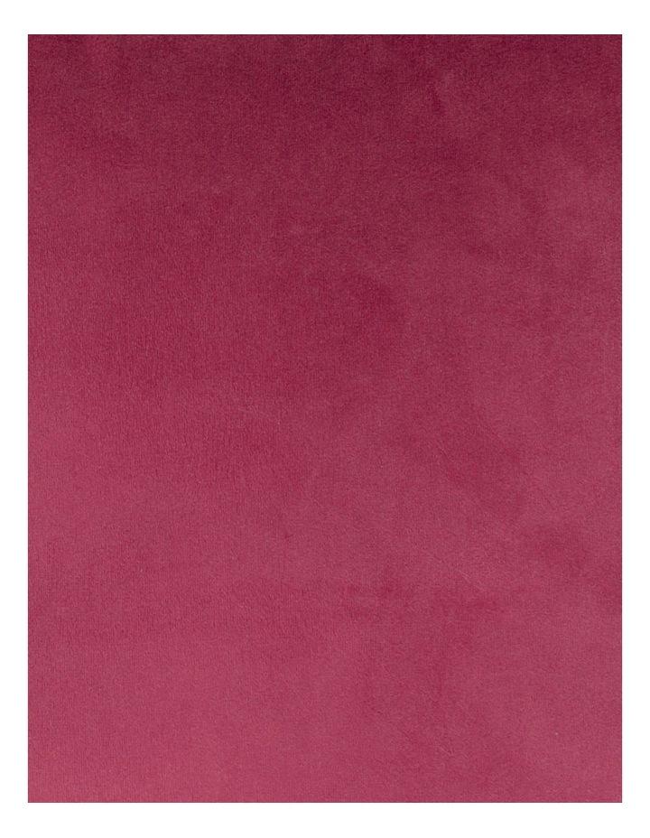Vivienne Velvet Cushion in Berry image 3