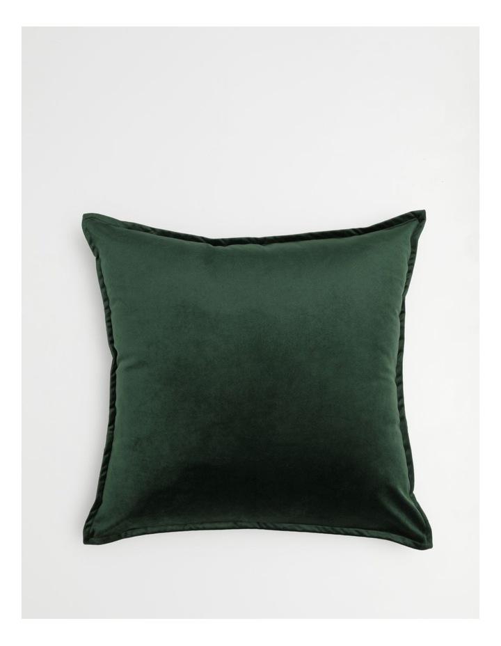 Vivienne Velvet Cushion in Emerald image 1