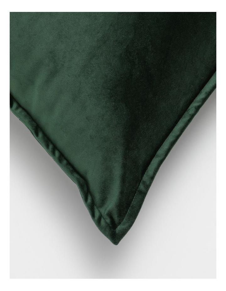Vivienne Velvet Cushion in Emerald image 2