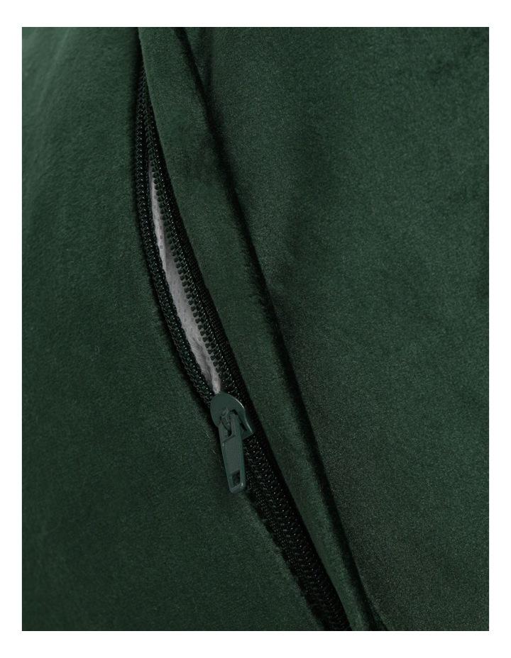 Vivienne Velvet Cushion in Emerald image 4