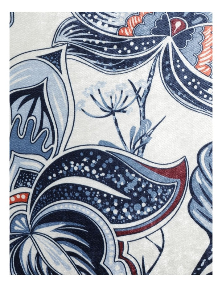 Heritage Obbnik Cotton Cushion in White image 3