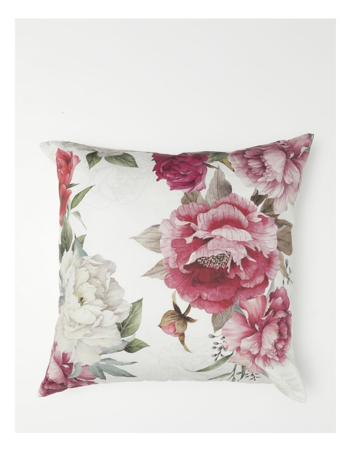 Sappho Chenille Cushion in White image 1