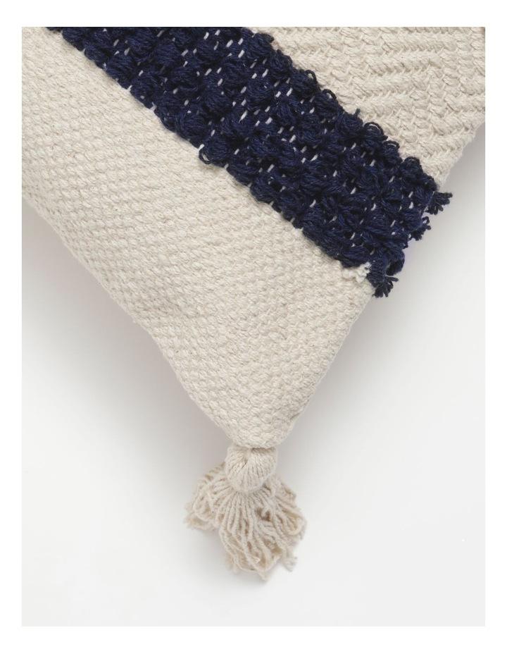 Pana Wina Woven Cotton Breakfast Cushion in White image 2