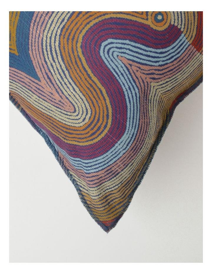 Selina Napanangka Fisher - Vaughan Springs Dreaming Bird Cushion image 2