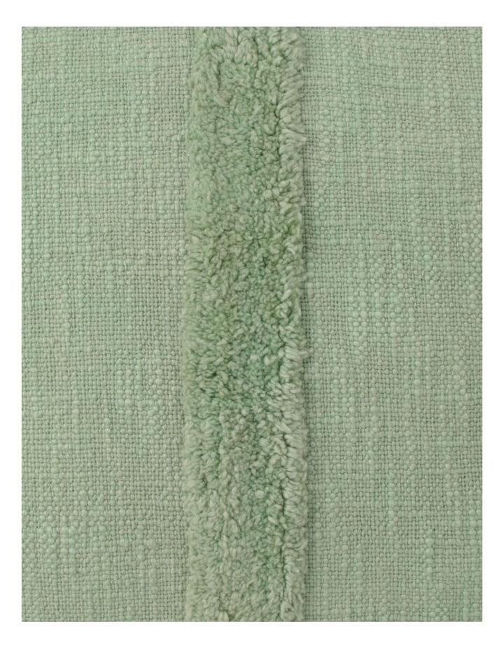 Vue Antonio Triple Stripe Tufted Cushion in Sage image 3