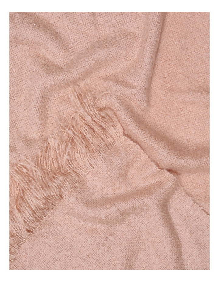 Hayley Knitted Throw in Pink image 2