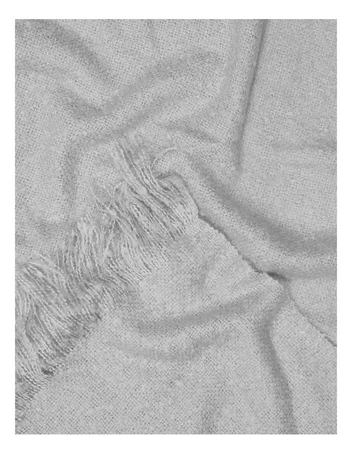 Hayley Woven Throw - Silver/Grey image 2