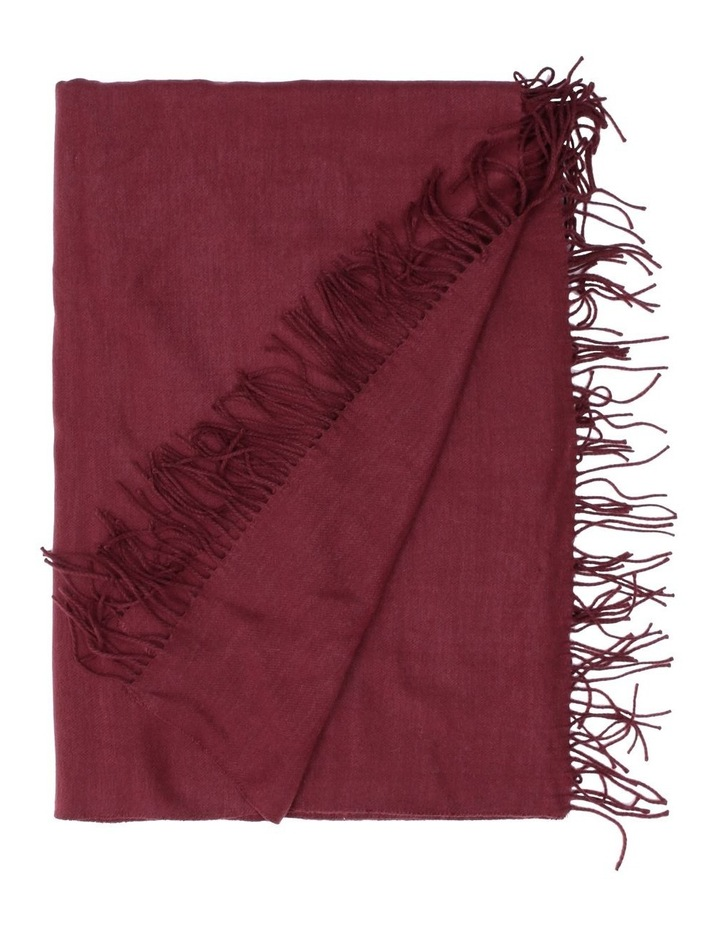 Yvonne Woven Throw in Cordovan image 1