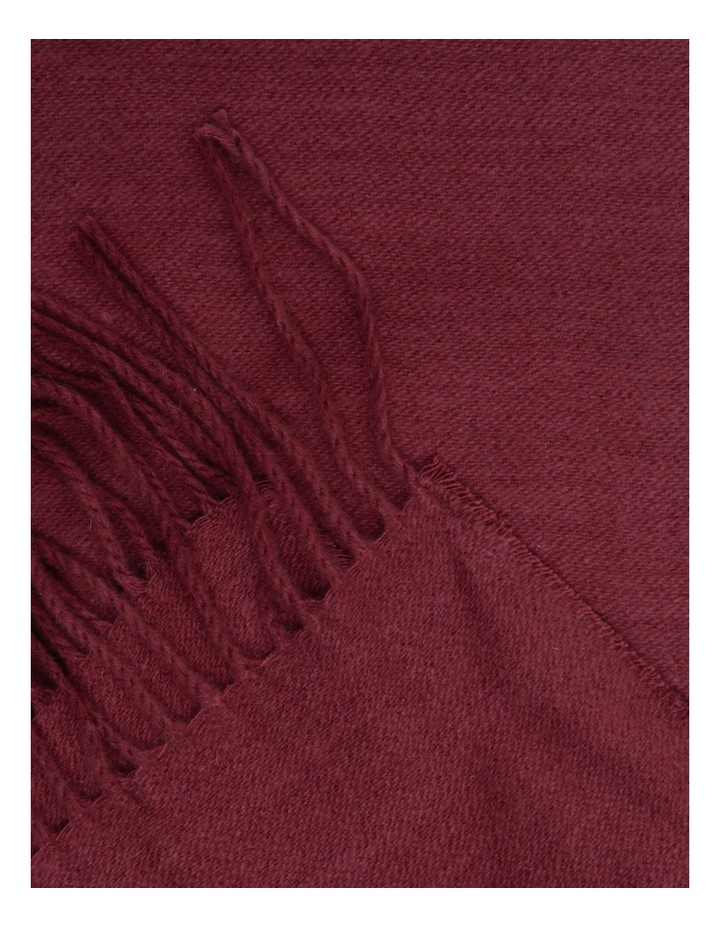 Yvonne Woven Throw in Cordovan image 2