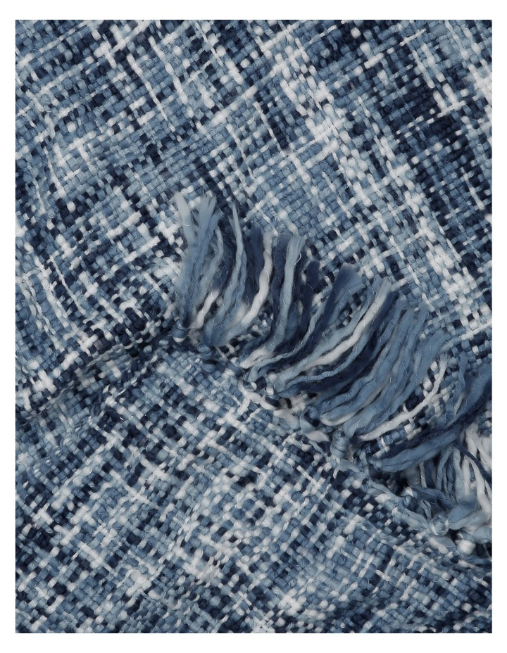 Minsk Chunky Knitted Throw 130x180cm:Blues image 2