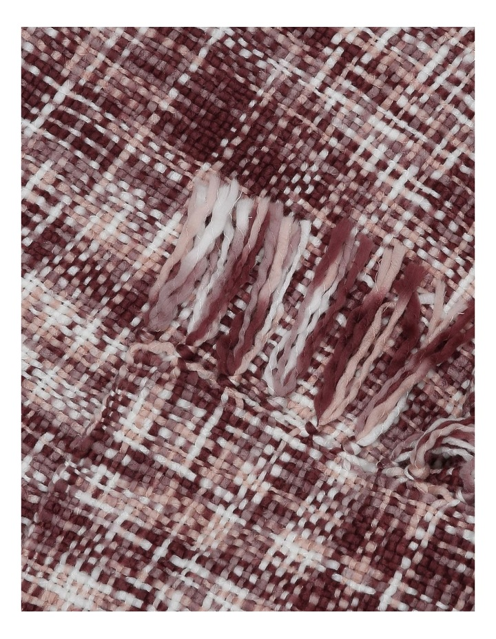 Minsk Chunky Knitted Throw 130x180cm:Pink image 2