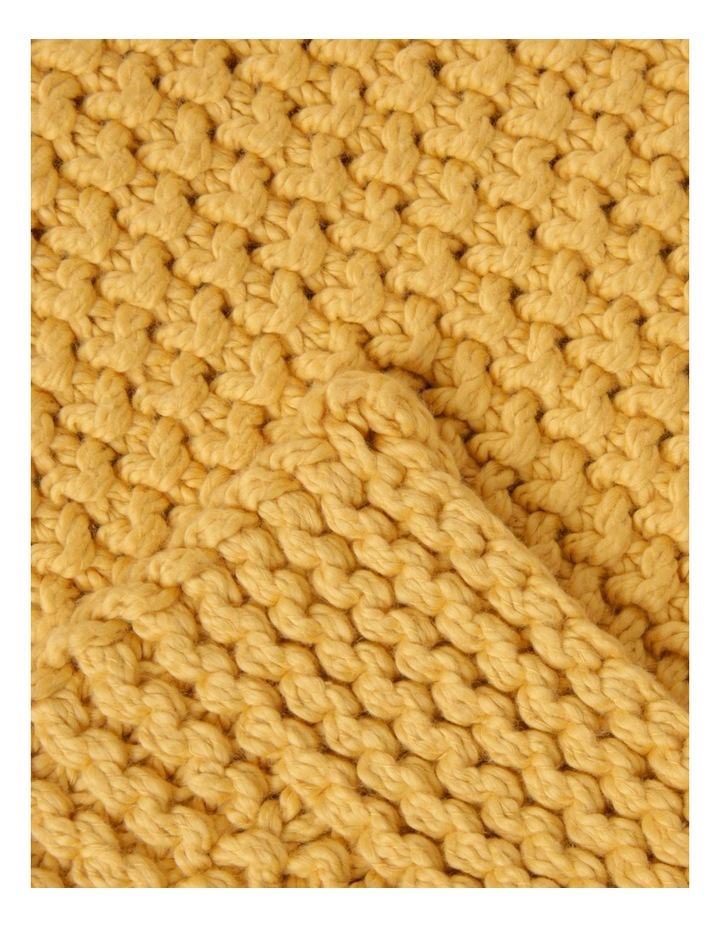 Norwood Knitted Throw in Sand image 2